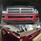 2nd Gen Bumper Conversion Brackets  HEAVY DUTY